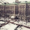 Snowy morning. #columbia #snow