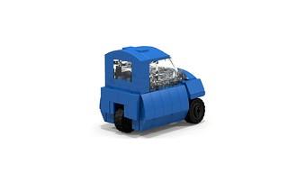 Lego Peel P50 rear 3/4