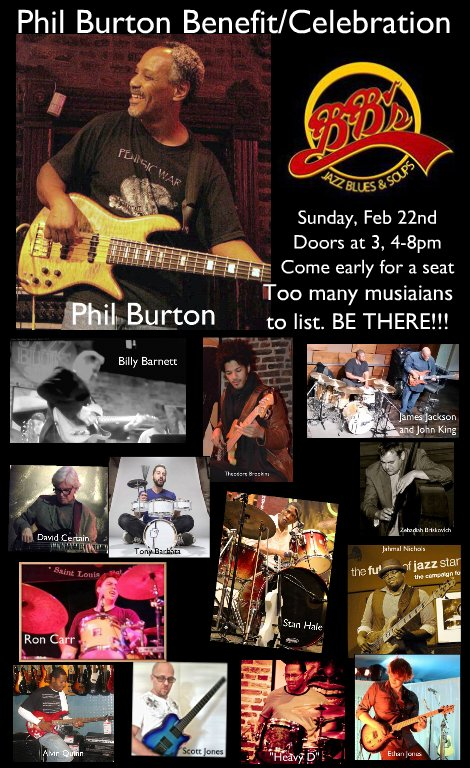 Phil Burton Benefit 2-22-15