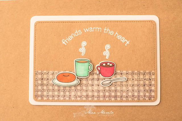 Card Friends warm the heart + 2