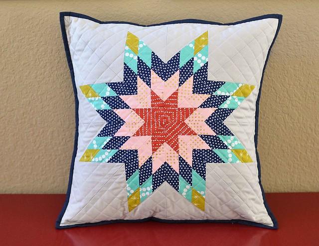 tsuru lone star pillow
