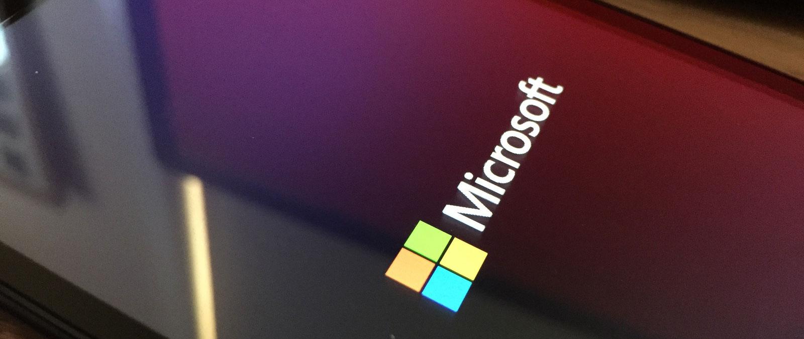 Microsoft boot logo