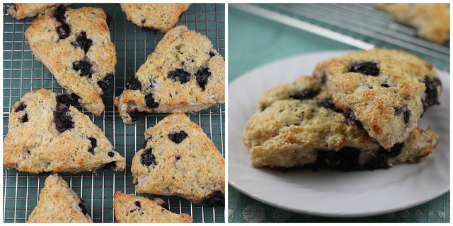 Blueberry Buttermilk Scones