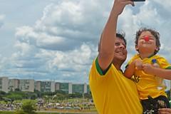 Protesto contra o Governo Dilma no DF