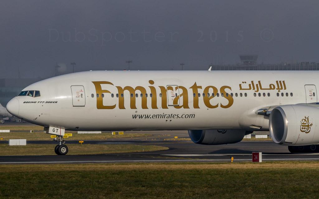 A6-EGT - B77W - Emirates