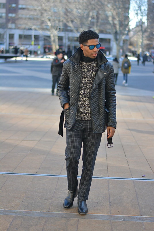 All Black Street Style Menswear