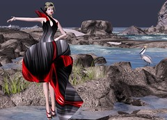 RAPTURE - Ruched Evening Gown