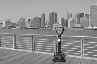 Queens and Manhattan