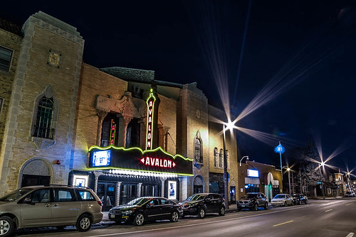 city urban wisconsin night march unitedstates historic milwaukee bayview 2015 avalontheater