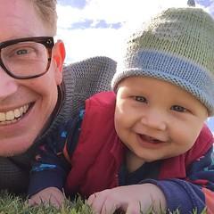 #selfie #parklife #fatherandson