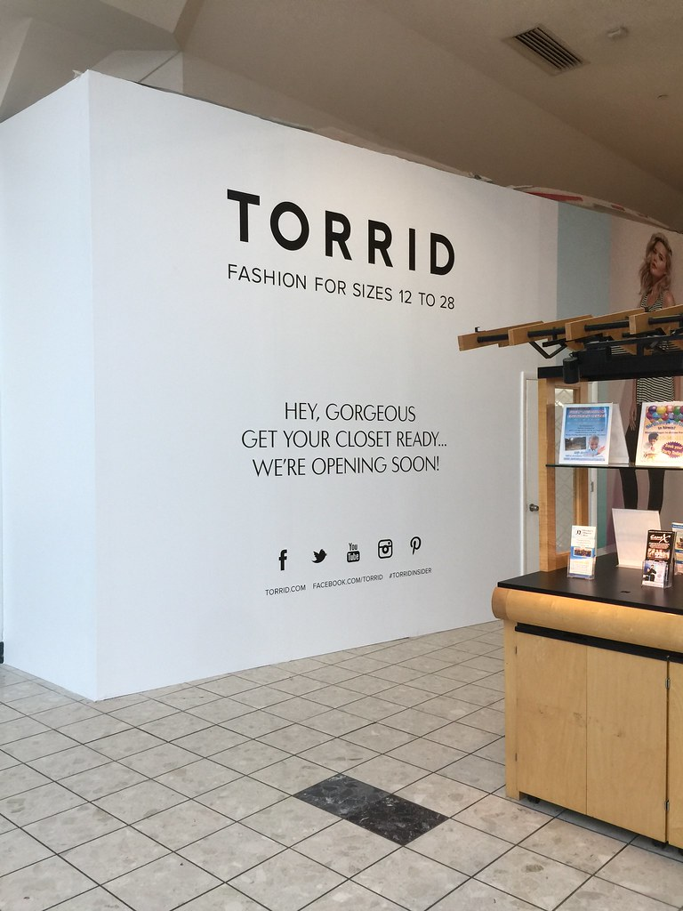 a87ecb3861a Future home of Torrid. Centre at Salisbury mall