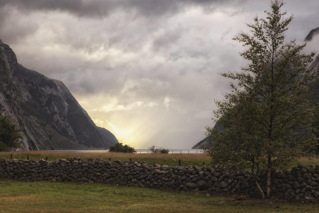 Lysefjorden er en norsk fjord, som ligger i Forsand kommune i Rogaland fylke. Kendte steder som Preikestolen (Prædikestolen) og Kjerag ligger langs Lysefjorden. Fjorden er 42 km lang og er næsten 500 meter dyb på det dybeste.  I indløbet til Lysefjorden ligger Oanes og Forsand på hver sin side med hver sin kaj. Lysefjorden går fra indløbet ved Høgsfjorden til Lysebotn i enden mod nordøst. Yderst i fjorden ligger Lysefjordbrua, som er eneste bro over fjorden.  Fjorden er skabt af isbræer, som har udgravet fjeldmasserne under sig over lang tid. Om sommeren går der turistfærge ind i fjorden hver dag. Udenfor højsæsonen går der rutetrafik med hurtigbåd. Forsand, Oanes, Songesand og Lysebotn er tilknyttet vejnettet. Vejene til Songesand og Lysebotn er vinterlukket.   Flørlitrapperne ved siden af rørforbindelsen op fra gamle Flørli kraftværk  På grund af høje fjelde og store søer på vidderne, er Lysefjorden blevet brugt til vandkraftproduktion. Det første kraftværk var Flørli kraftværk, som har en faldhøjde på 740 meter. Flørli kraftværk brugte længe en rørgate, som gik ned langs fjeldsiden til kraftstationen, som er sprængt ind i fjeldet. Lyse kraftværk er et andet kraftværk ved fjorden.