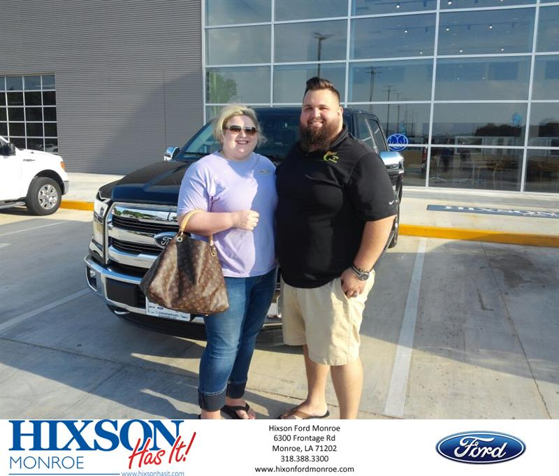 Hixson Ford Monroe >> Hixson Ford Of Monroe Customer Review First New Truck