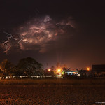 20. Juuli 2016 - 17:07 - Lightning photo from 24 stack photo.  Location: Tanjung Karang, Selangor.