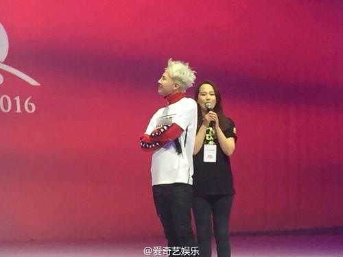 G-Dragon - Kappa 100th Anniversary Event - 26apr2016 - qiyiyule - 01