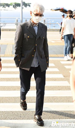 Big Bang - Incheon Airport - 07aug2015 - Dispatch - 07