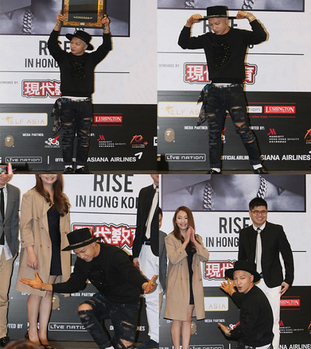 Tae Yang - Rise Tour 2015 - Hong Kong - Press Conference - 09jan2015 - HK Apple - 01