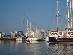 Helen in Poole Harbour Image