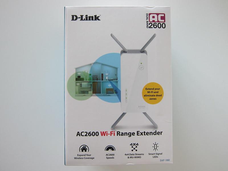 D-Link DAP-1860 - Box Front