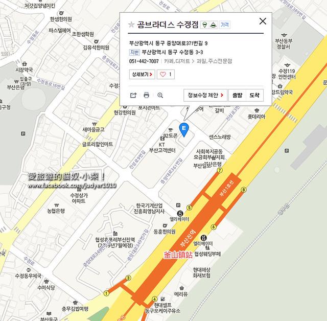 釜山鎮地圖