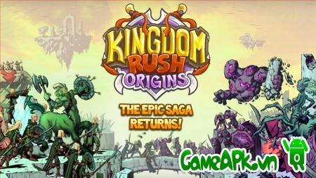 Kingdom Rush Origins v1.1.4 Hack Gems cho Android