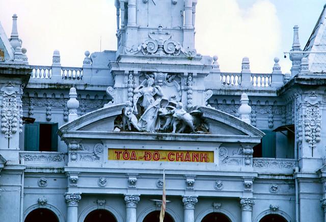 SAIGON 1969-70 - Tòa Đô Chánh. Photo by David Staszak
