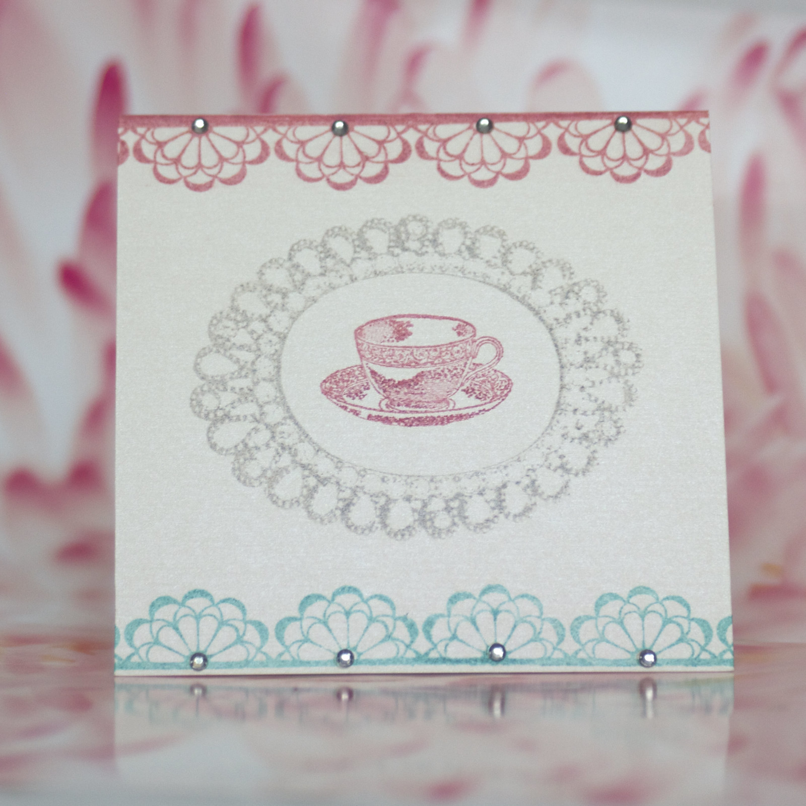 Tea Bag Holder Card