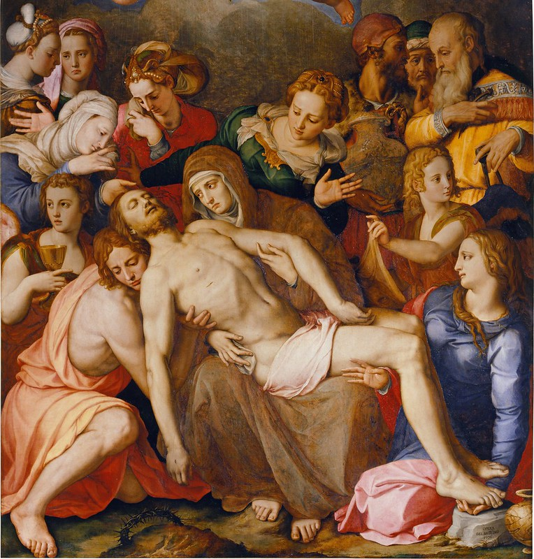 Agnolo Bronzino - The Deposition of Christ (1553)