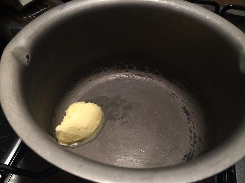 Lancashire Hotpot : Melt the butter