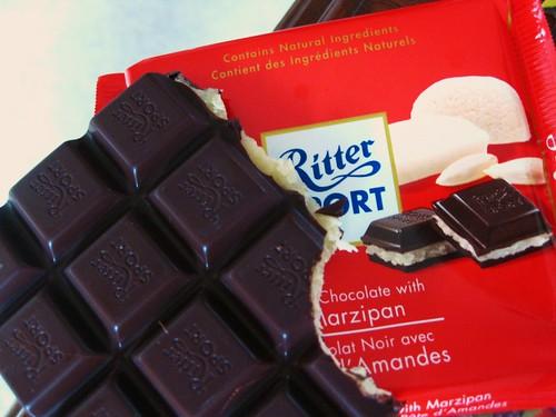 Marzipan Chocolate Bar // Ritter Sport