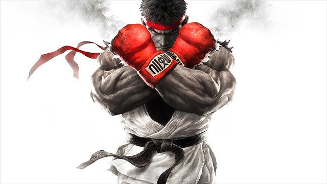 Street Fighter V Key Art