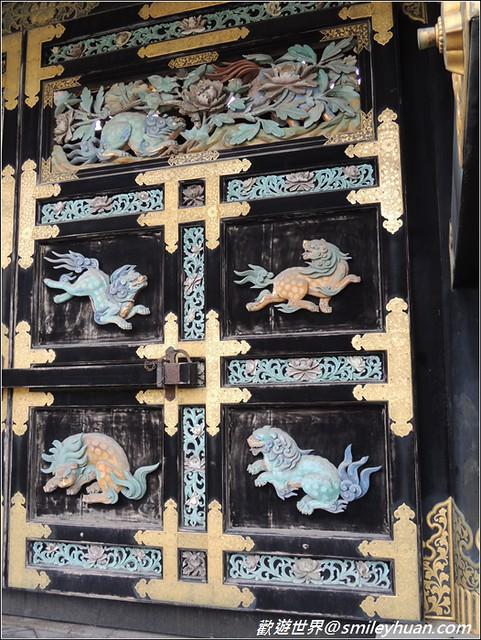西本願寺。唐門