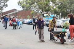 Wheelbarrow mini-parade in Fawkner IMG_9511