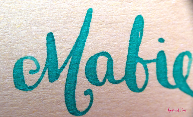 Review Le Typographe Fine Paper Writing Bloc - A5 Beetle Chamois @NoteMakerTweets (10)