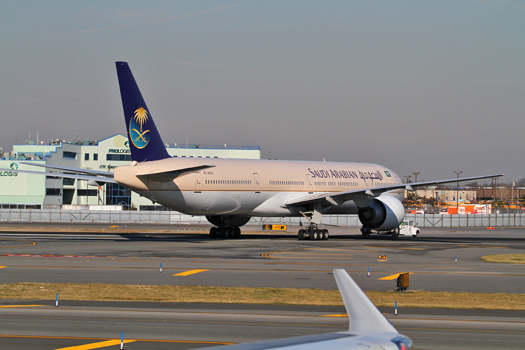 HZ-AK16 - B77W - Saudi Arabian Airlines