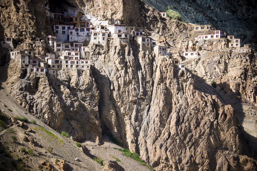 Монастырь Фуктал. Долина Занскар (Заскар) © Kartzon Dream - авторские путешествия, авторские туры в Индию, тревел фото, тревел видео, фототуры
