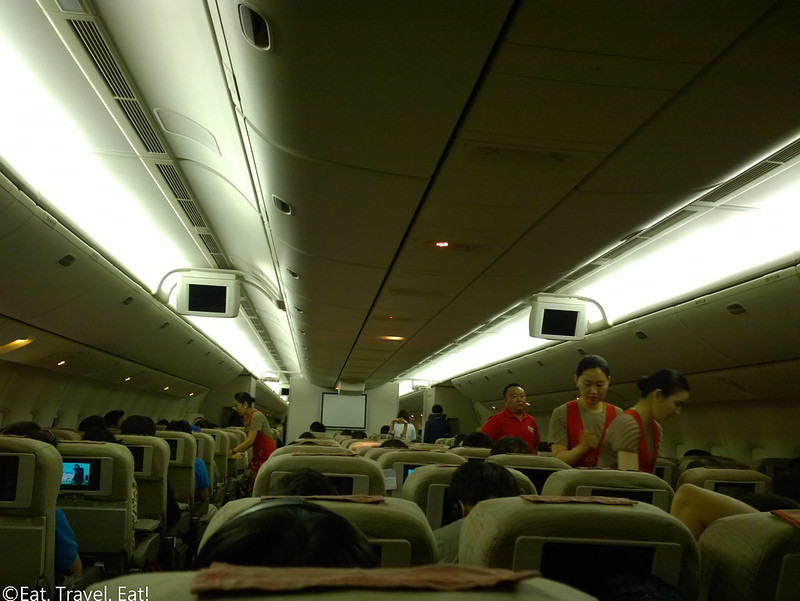 Asiana Airlines LAX-PEK: OZ 203