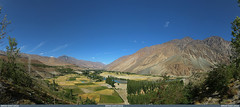 Phundar Valley, Ghizer from Govt. Rest House in Gilgit-Baltistan, Pakistan