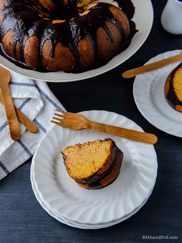 Coconut, Ricotta & Cornmeal Tea Cake (Bolo de Fuba)