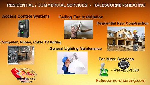 RESIDENTIAL / COMMERCIAL SERVICES by Halescornersheating