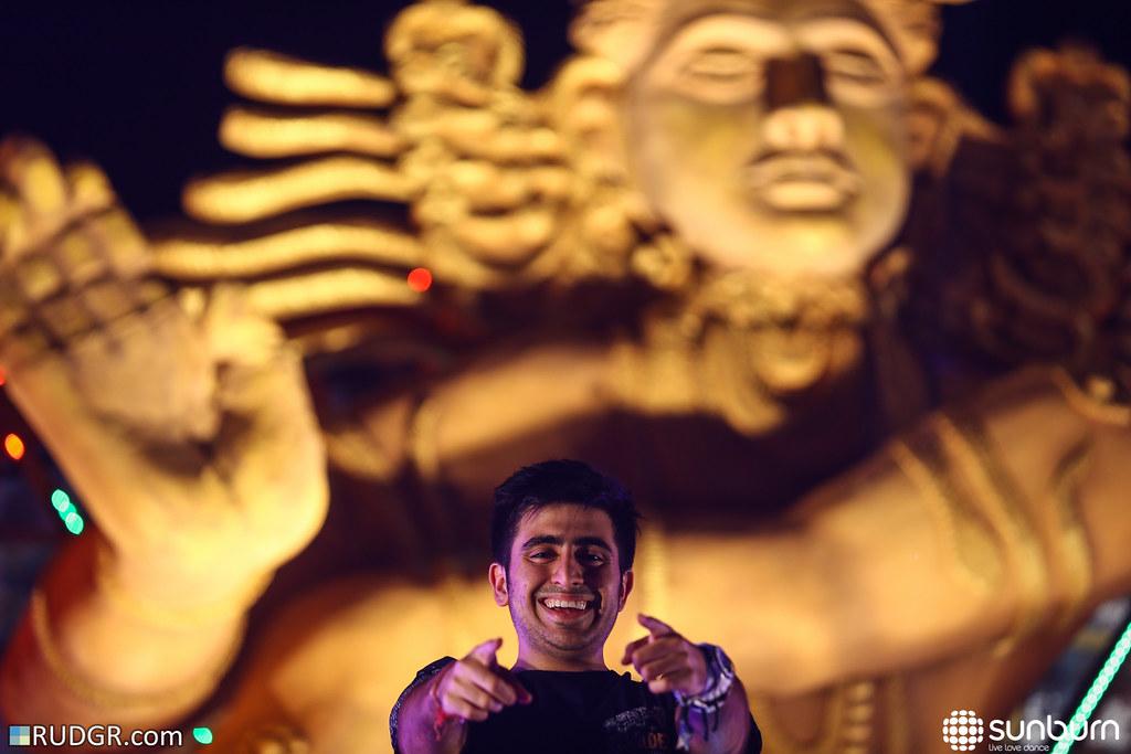 Shaan @ Sunburn Festival Goa, day 3