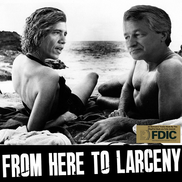 FROM HERE TO LARCENY