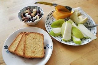 cheese plate lunch