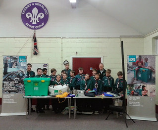 ShelterBox Presentation - Ferriby and Swanland Scout Group, Yorkshire