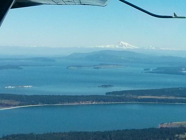 Mount Baker from the floatplane