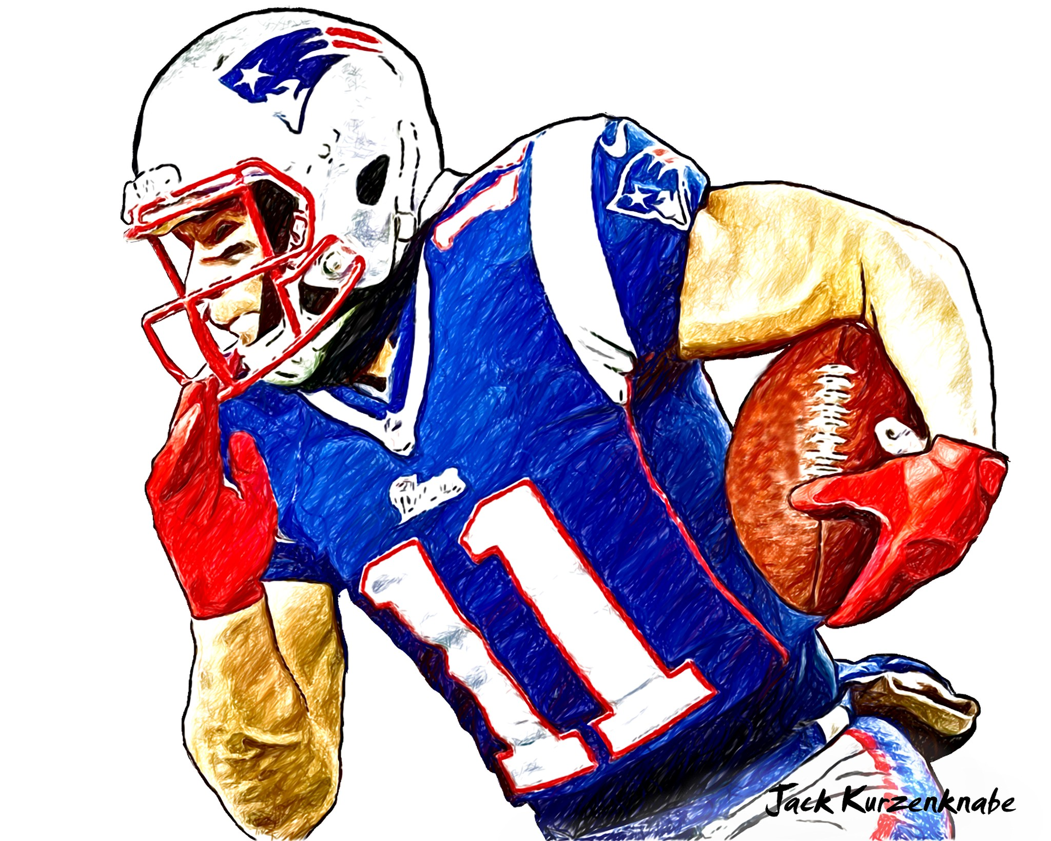 0 New England Patriots Julian Edelman
