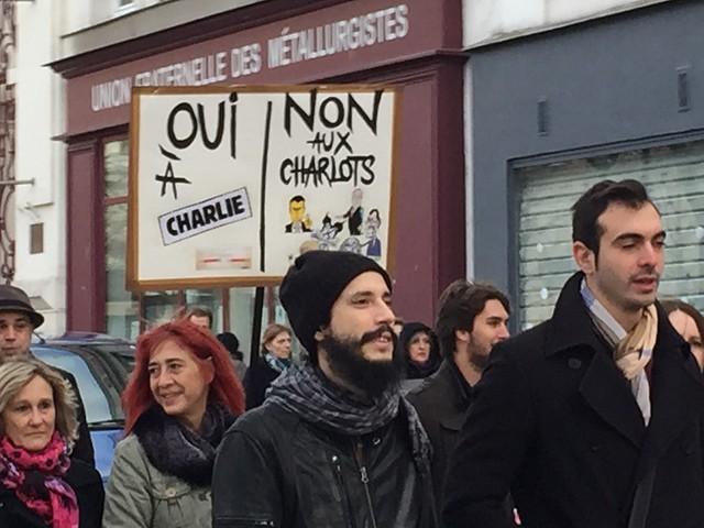 Marche républicaine Charlie