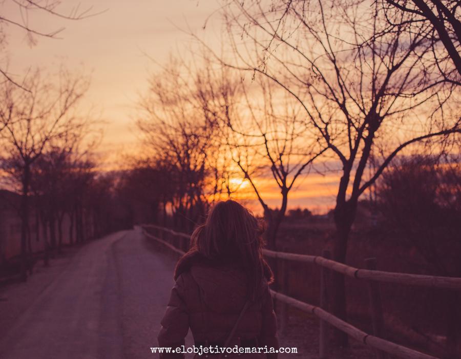 Perseguir las puestas de sol