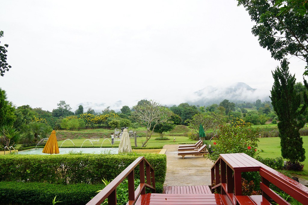 belle view resort pai - lobby and breakfast-002