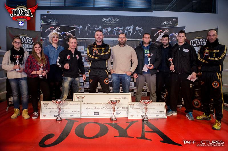 Νικητές σύλλογοι και αθλητές του Joya Kickboxing Championship 2014